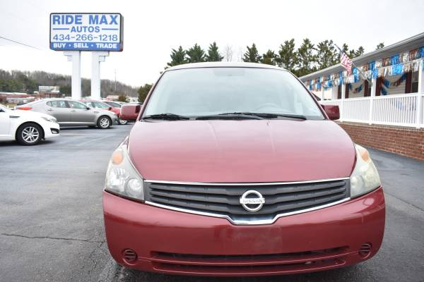 Photo 2007 Nissan Quest 3.5 - Excellent Condition - Smooth Ride - $4500 (Lynchburg VA)