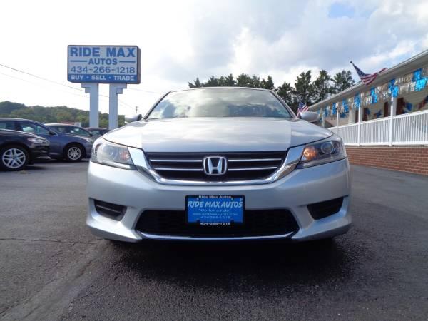 Photo 2013 Honda Accord Super Low Miles 49-K Back UP Camera Clean Title - $10595 (Lynchburg VA)