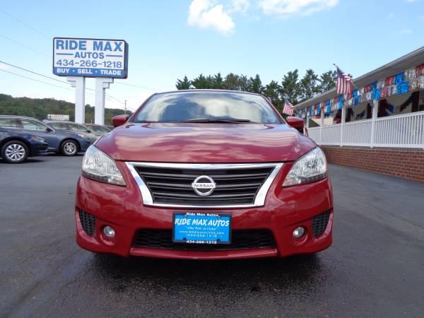 Photo 2013 Nissan Sentra SR Navigation Back UP Camera Low Miles Clean Title - $5495 (Lynchburg VA)