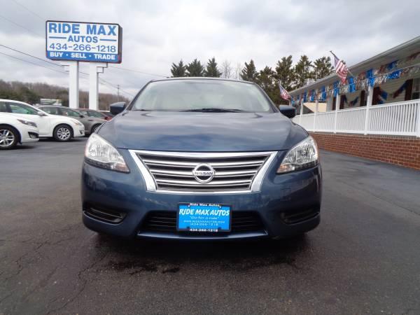 Photo 2014 Nissan Sentra Low Miles Great Condition Clean Carfax - $7295 (Lynchburg VA)