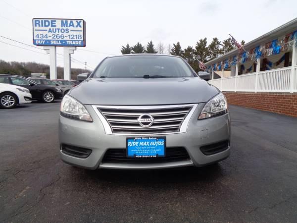 Photo 2014 Nissan Sentra Super Low Miles 27-K Great Condition Nice Car - $7495 (Lynchburg VA)