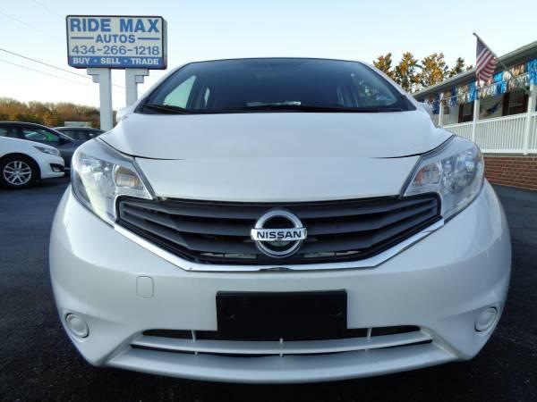 Photo 2014 Nissan Versa Note S - Excellent Condition - Fair Price - $4995 (Lynchburg VA)