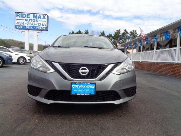 Photo 2016 Nissan Sentra One Owner Mint Condition Clean Carfax - $7495 (Lynchburg VA)