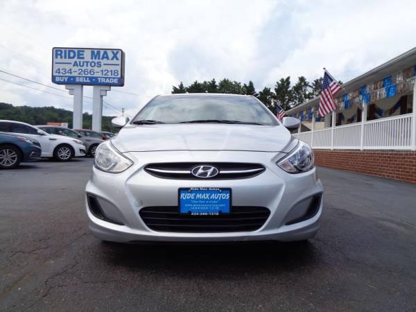 Photo 2017 Hyundai Accent 1 Owner Low Miles Still Under Manufacture Warranty - $8495 (Lynchburg VA)