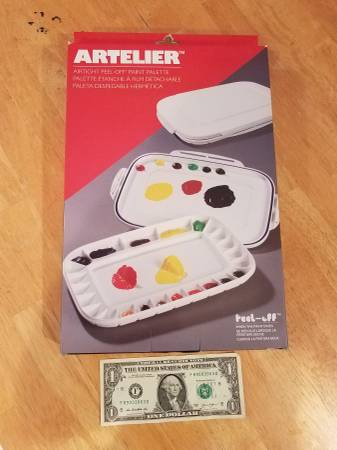 Photo Art Palette -Air Tight -for Acrylic Paint - by Artelier - New - $15 (lynchburg)