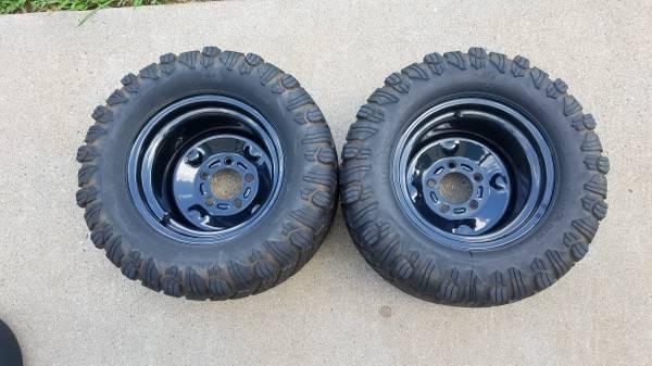 Photo Bad Boy Reaper Turf Tires And Wheels for Zero Turn Mowers - $225 (Lynchburg)