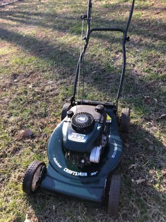 Photo Craftsman 20 inch push mower - $75 (Rustburg)