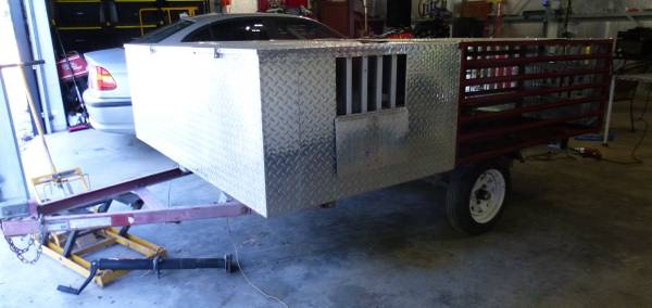 Photo Dog Box Hunting Trailer - $825 (Amherst)