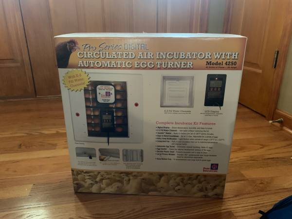 Photo Egg Incubator - $85 (Evington)