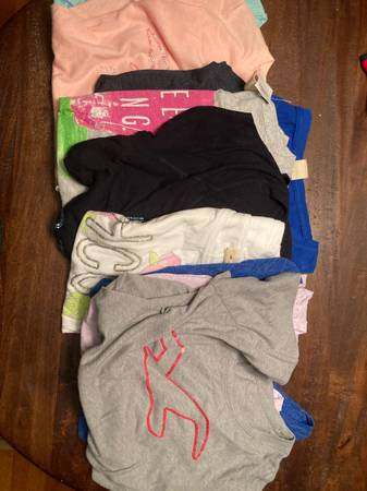 Photo Hollister lot of 10 Shirts Size L - $35 (Forest)