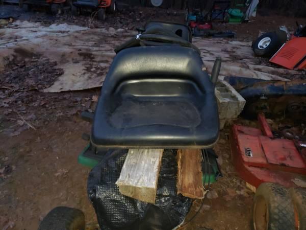 Photo Huskee riding mower seat only - $15 (Lynchburg va)