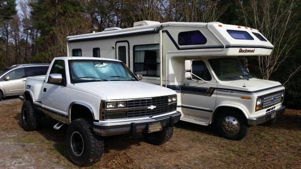 Photo I can add cash $ plus trade my 2739 Rockwood RV and Chevy Z71 PU. ea. - $11,995 (South Prince George)