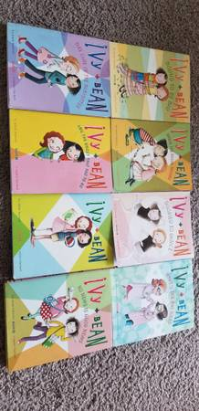 Photo Ivy and Beans (8 books) - $20 (262 Colonnade drive, charlottesville)