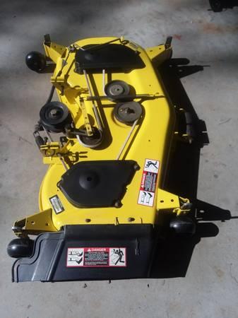 Photo John Deer 48C mower deck - $650 (Skipwith)