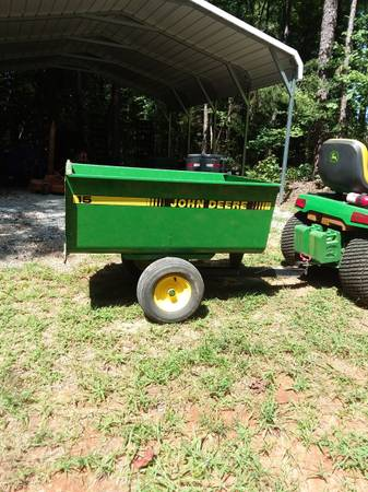 Photo John Deer Dump Cart 15 - $450 (Skipwith)
