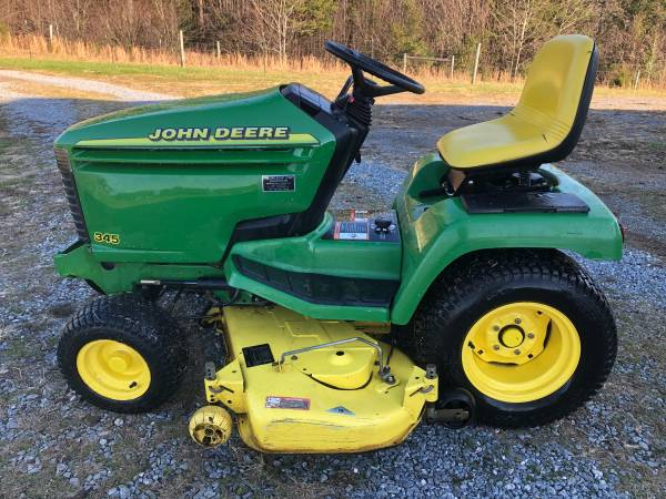 Photo John Deere 345 lawn mower - $2,500 (Rustburg)