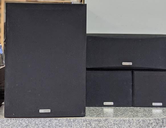 Photo Kenwood 3 Speakers  Subwoofer On sale - $79 (lynchburg)