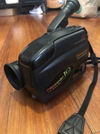Photo Panasonic Palmcorder IQ Camcorder Video Camera - $40 (Museum District)