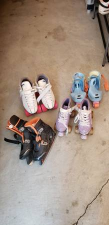 Photo ROLLER SKATES ICE SKATES - $60 (Rustburg)