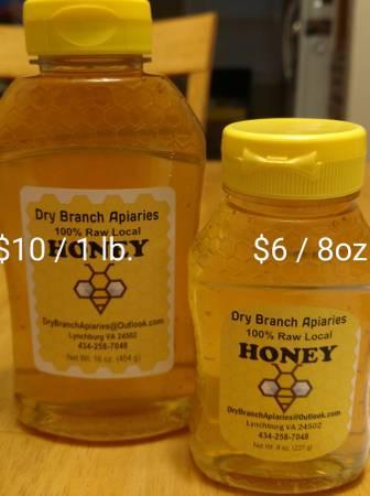 Photo Raw Local Honey - $10 (Lynchburg, Va)