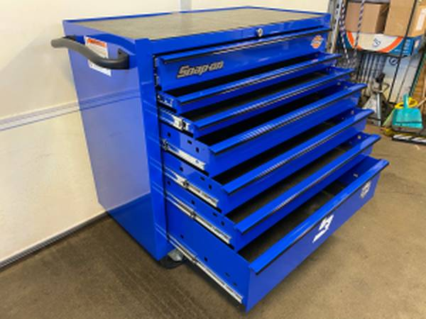 Photo SNAP ON 40 Heritage Series 7 Drawer Roll Cab Excellent Condition - $1,350 (Roanoke)