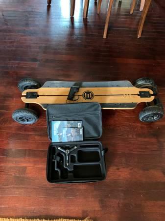 Photo Skateboard EVOLVE Bamboo GTR - $1,199 (Charlottesville)