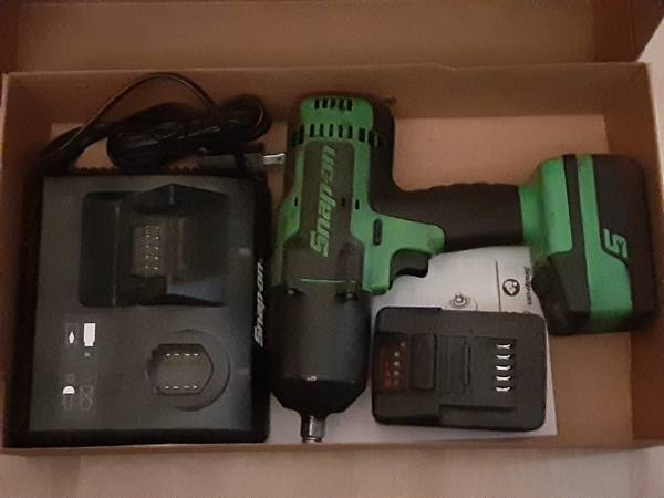 Photo Snap-On Impact wdual charger - $300
