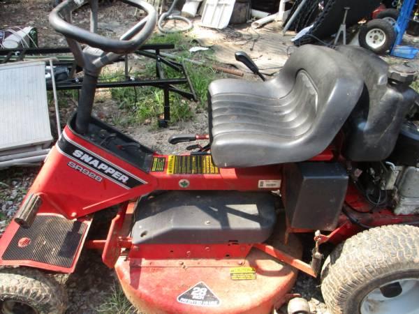 Photo Snapper riding mower - $200 (Lynchburg, VA)