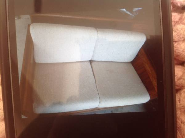 Photo This End Up Love seat, Chair and ottoman - $300 (Amherst)