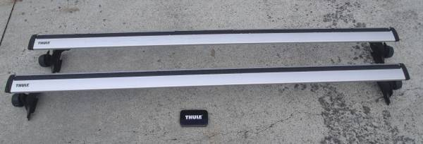 Photo Thule Used 60quot Complete Roof Rack System for Jeep Wrangler Unlimited - $400 (Forest Area)