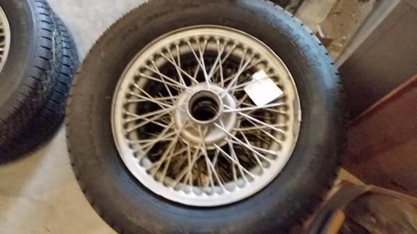 Photo WIRE wheels for British imports - $900 (Lynchburg, Va)