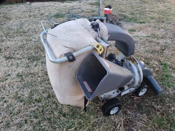Photo White leaf vacuumchipper - $140 (Lynchburg va.)