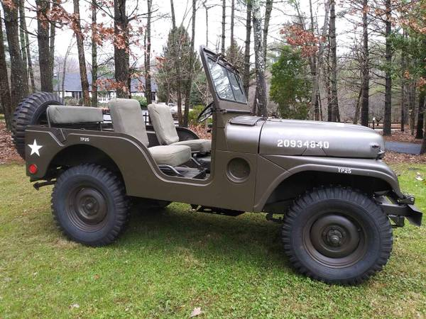 Photo Willys Army Jeep M38A1 - $13000 (Forest Virginia)