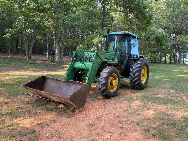 Photo John Deere 2755 Cab tractor with loader  - $25,000 (Rustburg)