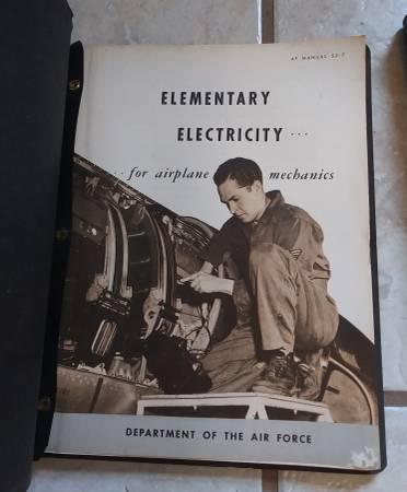 Photo 1950s US Air Force Jet Manuels - $10 (Columbus)