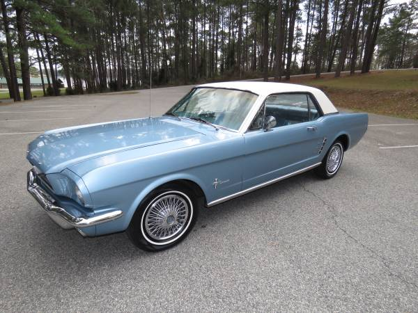 Photo 1966 Ford Mustang - $13500 (Macon)