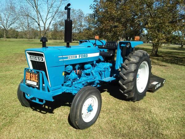 Photo 1981 Ford 3600 Tractor - $7,500 (Warner Robins, GA)