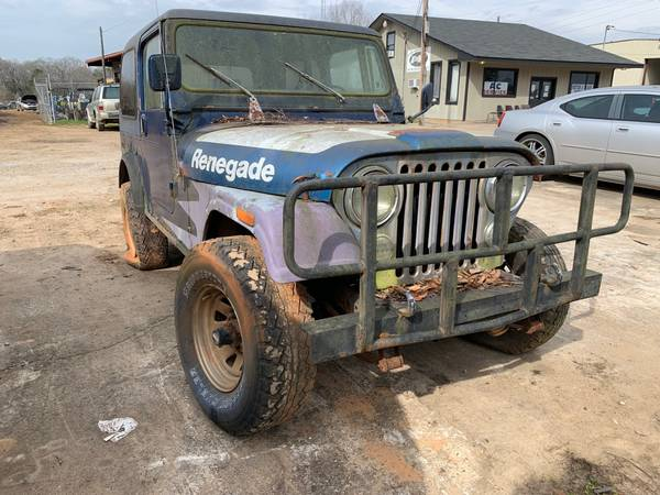 Photo 1983 JEEP CJ7 WRANGLER - $975 (BONAIRE GA)