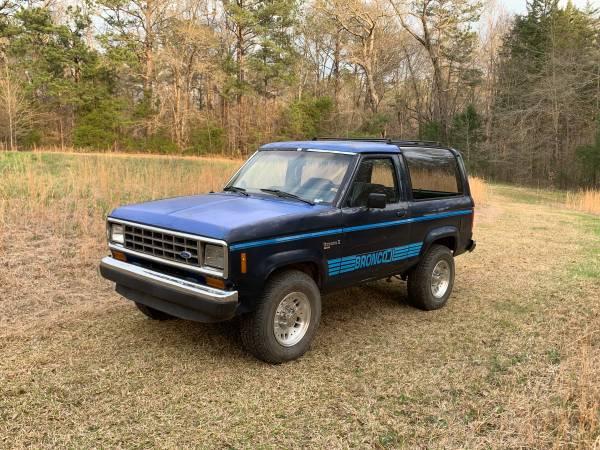 Photo 1988 Ford Bronco ll - $1,700 (Juliette)