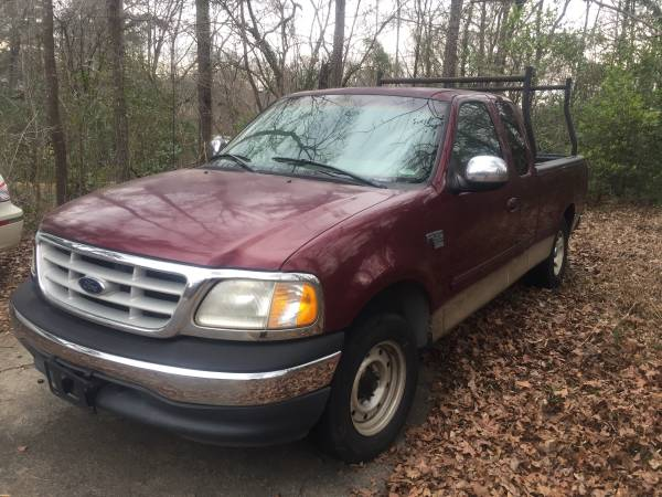 Photo 1990 FORD F-150 WITH LADDER RACK - $2,800 (Macon GA)