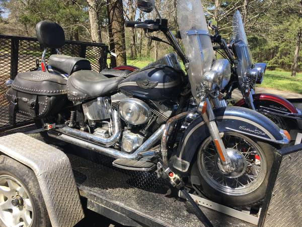 Photo 2003 Heritage Softail with only 9,500 miles - $5,500 (Rockmart)