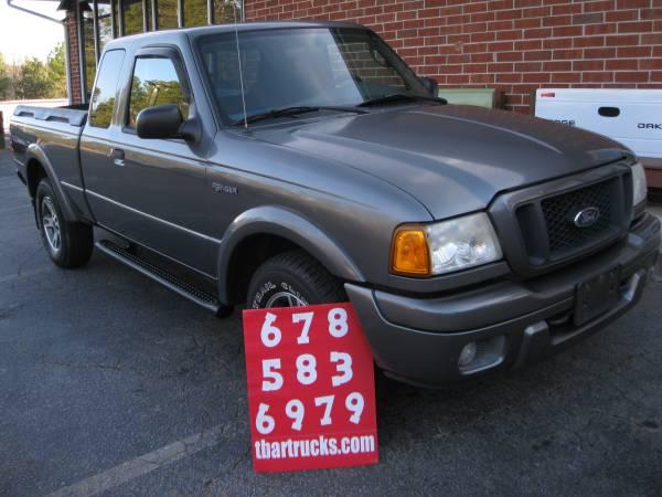 Photo 2004 FORD RANGER TREMOR 4X4 EXTENDED CAB FOUR WHEEL DRIVE - $7400 (LOCUST GROVE)
