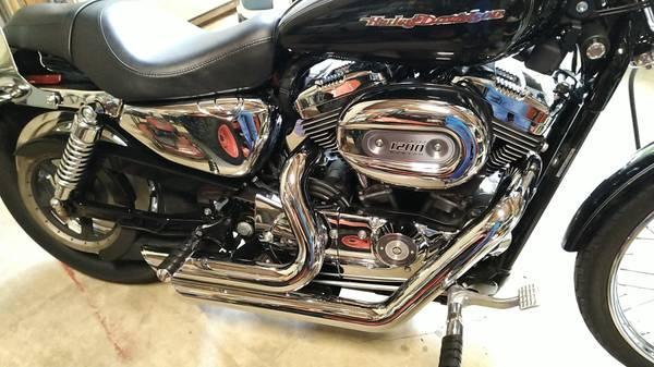 Photo 2006 Harley-Davidson 1200 Custom, Stage 1 (4986 original miles) - $6,500 (Canton)