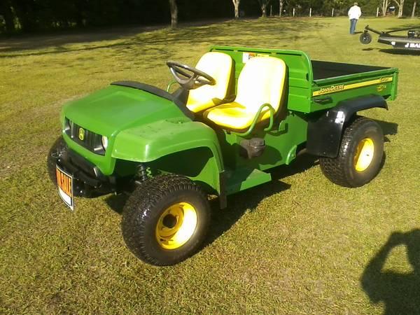 Photo 2006 John Deere Gator TX Turf - $4500 (Perry, GA)