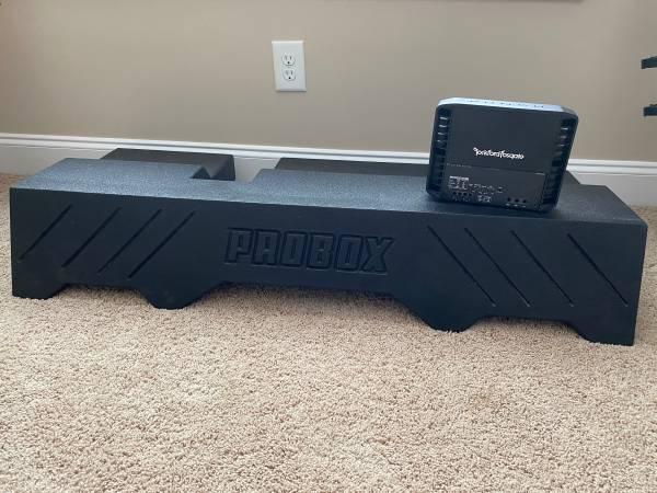 Photo 2 Probox Rocks 10s with Rockford Fosgate lifier - $500