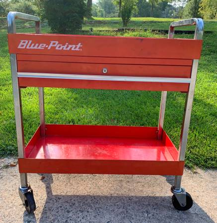 Photo BLUE POINT TOOL CART, One Drawer - $100 (MILLEDGEVILLE)