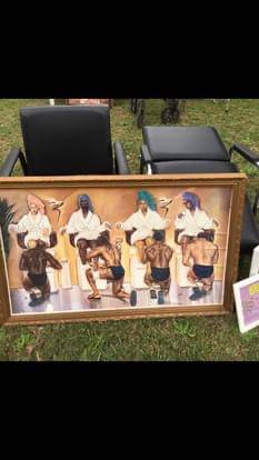 Photo Beauty Salon Furniture starter set - $99 (Macon)