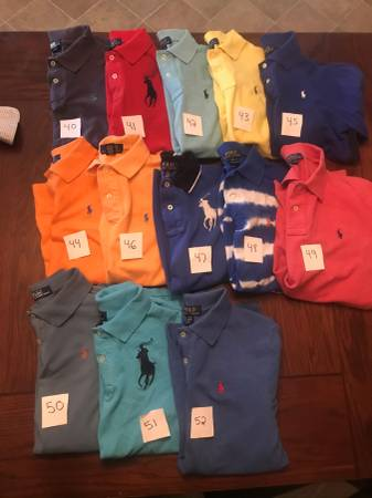 Photo Boys Lot Polo Levi Jordan Adidas Shirts Jeans Jackets - $10 (Byron)