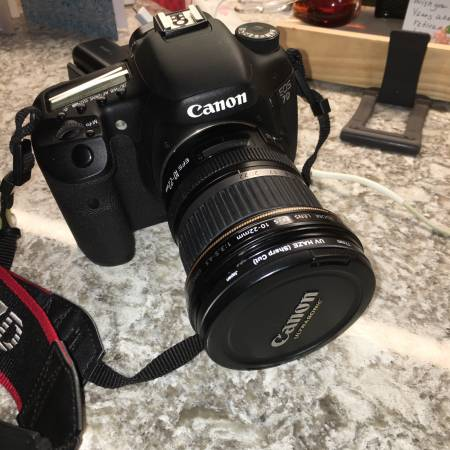 Photo Canon 7D with 10-22 canon lens - $450 (Watkinsville)