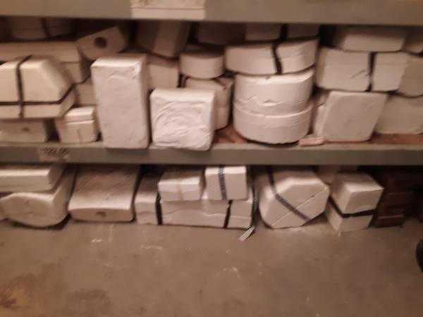 Photo Ceramic moldssmall kiln - $475 (Parott) - $475 (Parott 10 miles south of Plains)